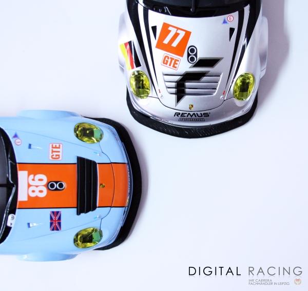 Frontspoilerlippe für Carrera D124 Porsche GT3 RSR