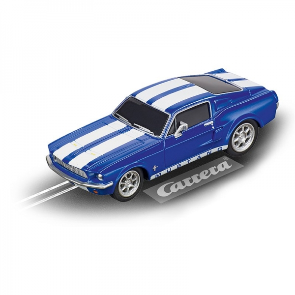 Carrera GO!!! Ford Mustang ´67 Racing Blue