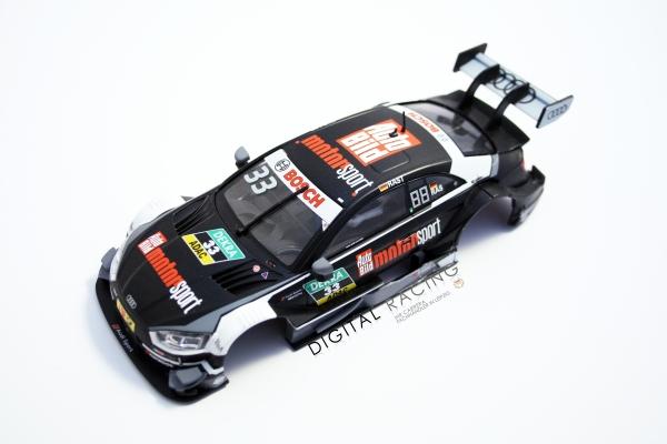 Karosserie Carrera 1:32 Audi RS5 DTM R. Rast Nr.33