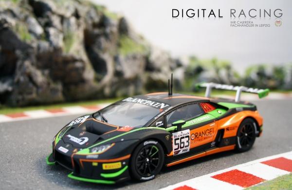 Carrera Digital 132 Lamborghini Huracán No.563 Orange1 FFF Racing Team