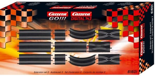Carrera GO!!! / Digital 143 Schienen Ausbauset 2