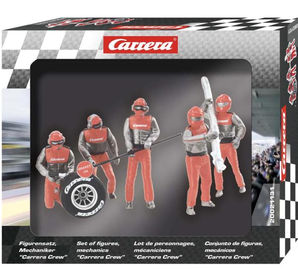 Carrera 1:32 Figurensatz Mechaniker Carrera Crew Rot