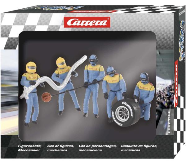 Carrera 1:32 Figurensatz Mechaniker Carrera Crew Blau