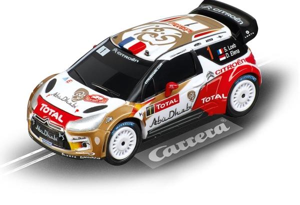 Carrera GO!!! Citroën DS3 WRC Citroën Total Abu Dhabi, No.1