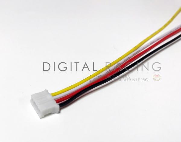 Micro Mini Stecker 2.0mm 4-Pin m. Kabel für Scalextric Decoder