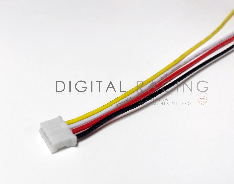 Micro Mini Stecker 2.0mm 4-Pin m. Kabel für Scalextric