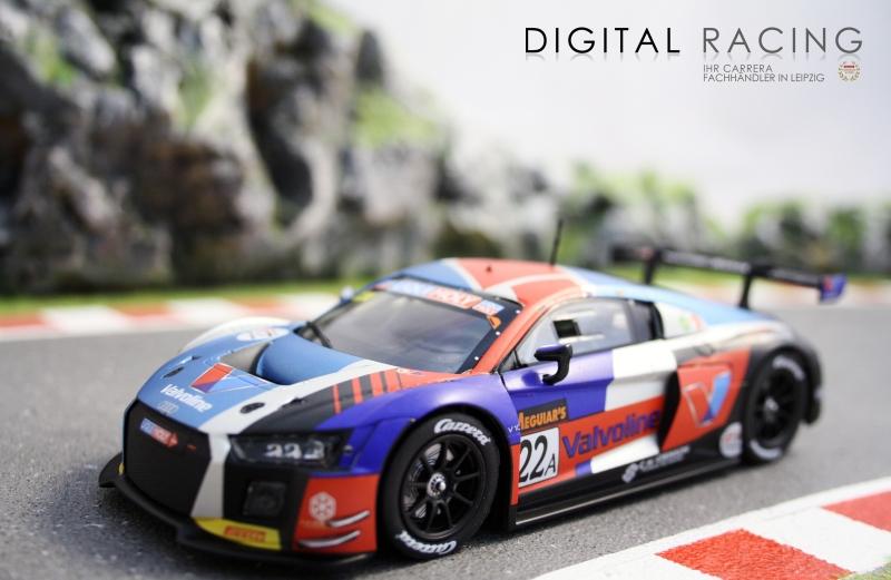 Carrera Digital 132 Audi R8 LMS No.22A
