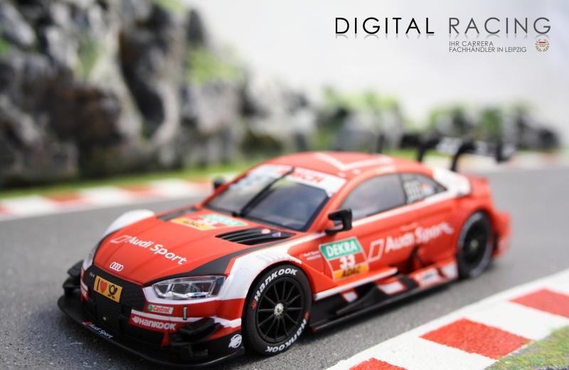 Carrera Digital 132 Audi RS5 DTM R.Rast No.33