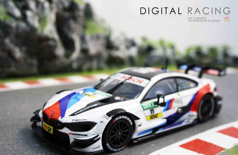 Carrera Digital 132 BMW M4 DTM M.Wittmann No.11