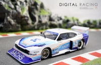 Carrera Digital 132 Ford Capri Zakspeed Turbo Sachs Sporting No. 52
