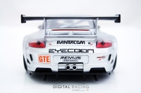 Heckdiffusor für Carrera D124 Porsche GT3 RSR