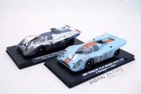 Slotwings Set Porsche 917K 1000Km Brands Hatch 1971 Set MARTINI against GULF