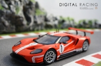 Carrera Digital 132 Ford GT Race Car Time Twist No.1