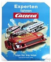 Carrera Blechschild 50 x 40 cm - DRM Retro Race