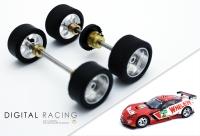 Tuningkit für Carrera 1:32 Corvette C7R ( Vorder + Hinterachse )