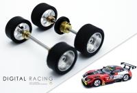 Tuningkit für Carrera 1:32 Mercedes-Benz AMG GT3( Vorder + Hinterachse )