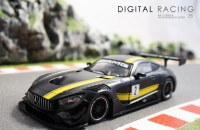 NSR Mercedes-AMG GT3 Test Car / Schwarz