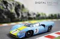 Thunderslot Lola T70 MKIII #7 Le Mans 24 Hours 68