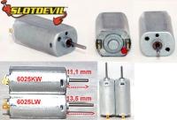 Slotdevil 6025KW Minimotor 25000u / 0,17A 90g/cm Drehm. (KW)