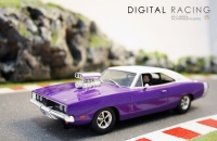 Scalextric Dodge Charger R/T - Lila