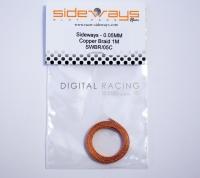 Sideways Stromabnehmer Kupfer 0.5mm/extra soft / 100cm