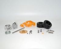 Frankenslot Umbaukit Hinterachse Lola T70 komplett Kit