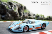 NSR Ford MK IV GULF Limited Edition #72