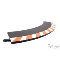 Carrera Randstreifen Kurve 1 / 60 Außen Set / 3 Stück