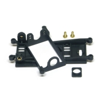 Slot.it Motorhalter LMP EVO-6 Flat (Offset 0,5mm) / SICH75