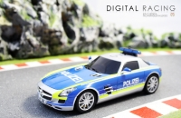 Carrera Digital 132 Mercedes-Benz SLS AMG Polizei