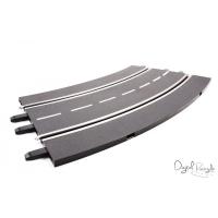 Carrera Kurve 3 / 30 Grad Set / 6 Stück